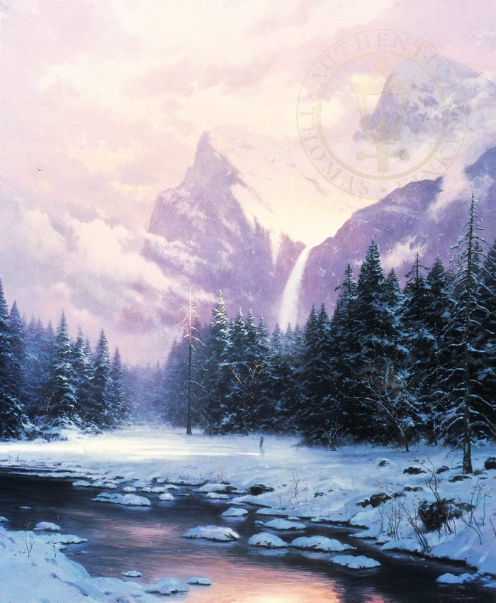 Glory of Winter – Limited Edition Canvas