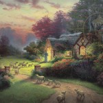 Good Shepherd's Cottage, The – Limited Edition Canvas