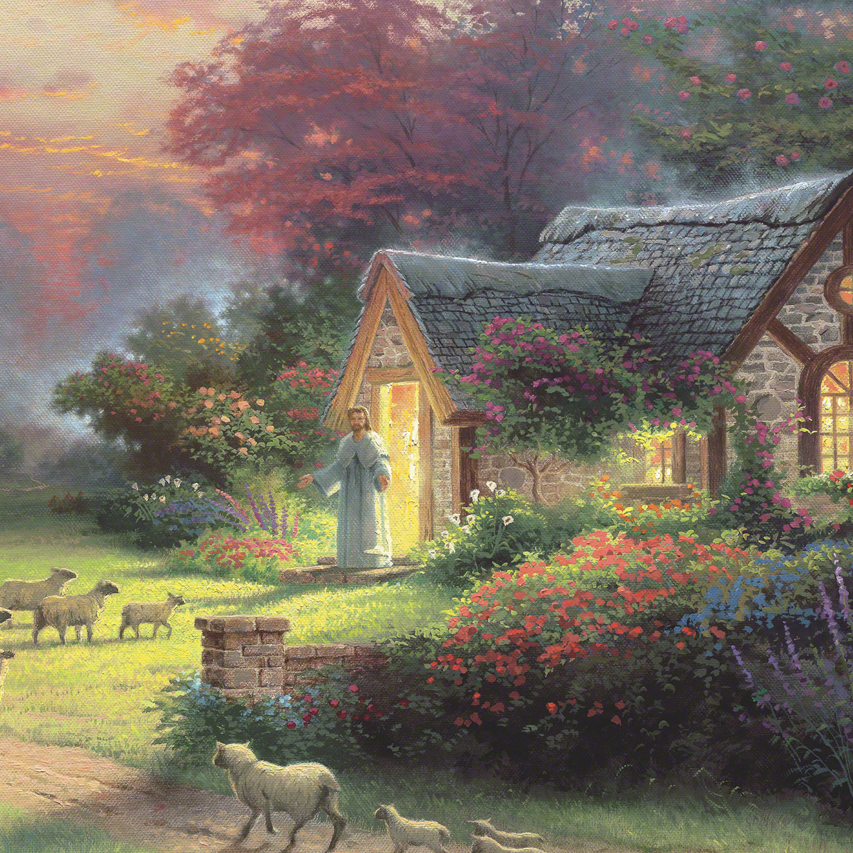 Good Shepherd S Cottage The Limited Edition Art
