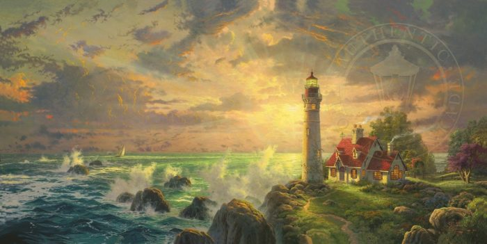 Guiding Light, The – Limited Edition Canvas