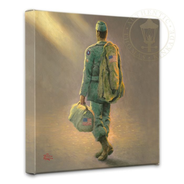 "Heading Home – 14"" x 14"" Gallery Wrapped Canvas"