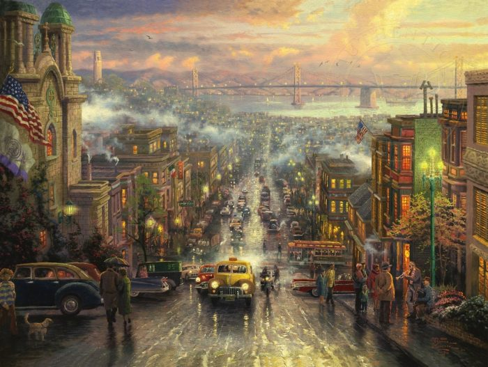 Heart of San Francisco, The – Limited Edition Canvas