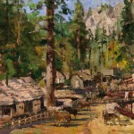 High Country Camp – Limited Edition Canvas