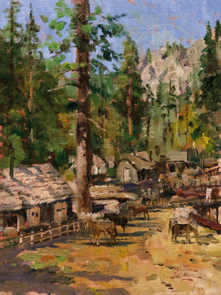 High Country Camp – Limited Edition Art