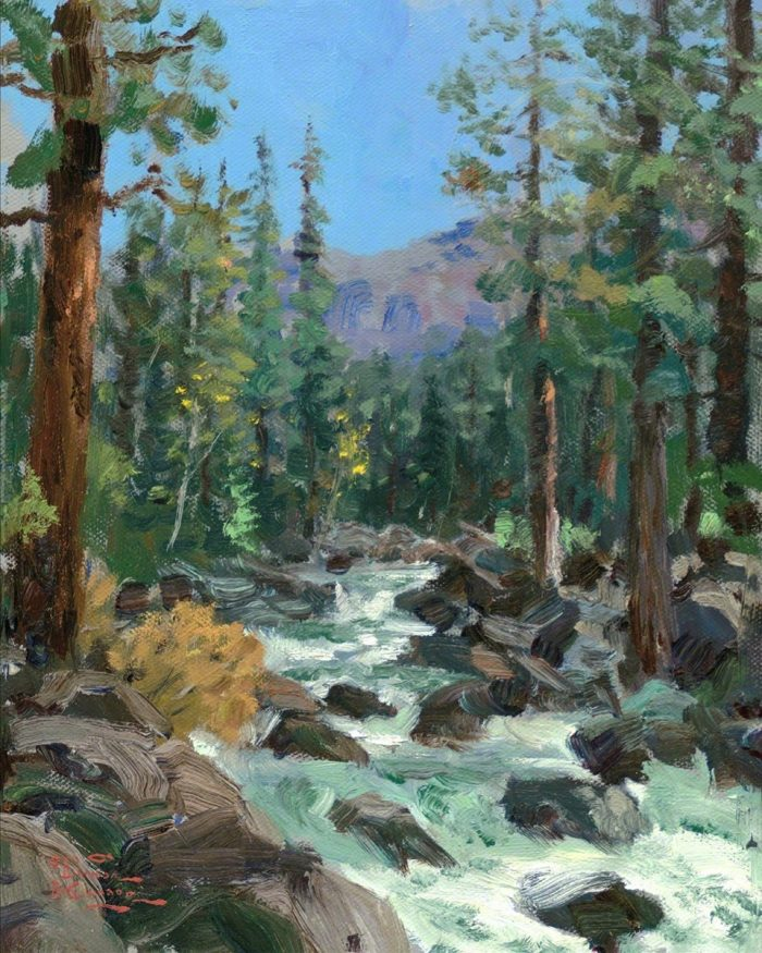 High Country River – Limited Edition Canvas