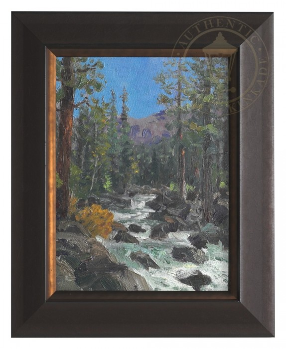 High Country River – Impressions (Foundry Rust Frame)