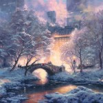 Holiday at Central Park – Limited Edition Canvas