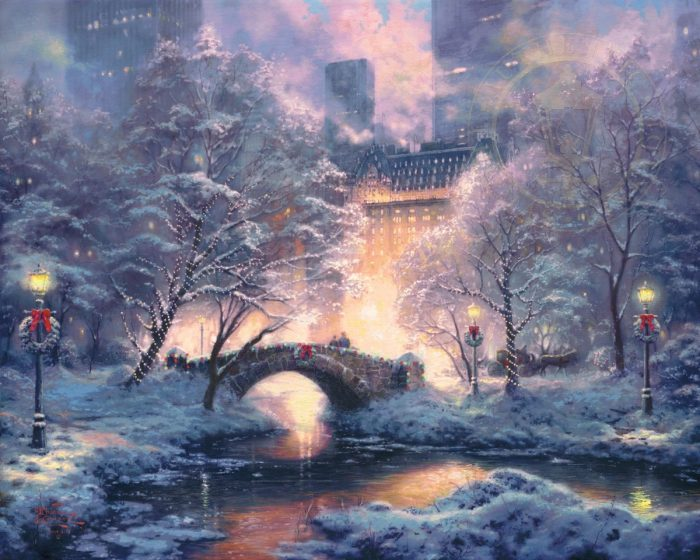 Holiday at Central Park – Limited Edition Art