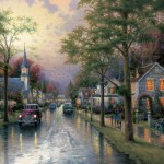 Hometown Morning – Limited Edition Canvas
