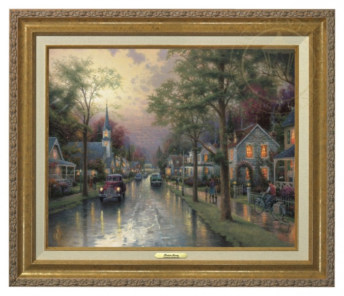 Hometown Morning – Canvas Classic