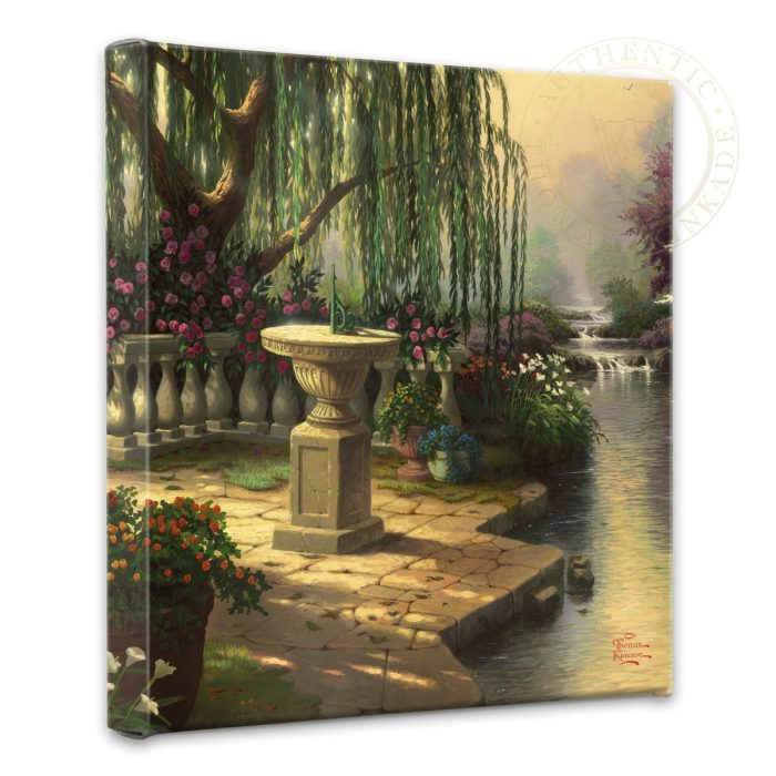 "Hour of Prayer, The – 14"" x 14"" Gallery Wrapped Canvas"