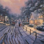 Hometown Christmas Memories – Limited Edition Canvas