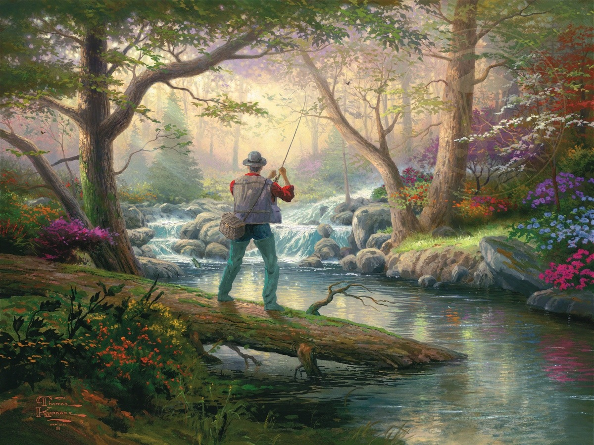 It doesn t get much better limited edition art the for Kinkaid lake fishing report