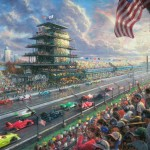 Indy® Excitement, 100 Years of Racing at Indianapolis Motor Speedway® – Limited Edition Canvas