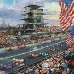Indianapolis Motor Speedway Study – Limited Edition Canvas