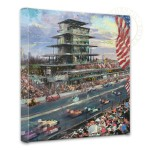 Indianapolis Motor Speedway, 100th Anniversary Study – 14″ x 14″ Gallery Wrapped Canvas