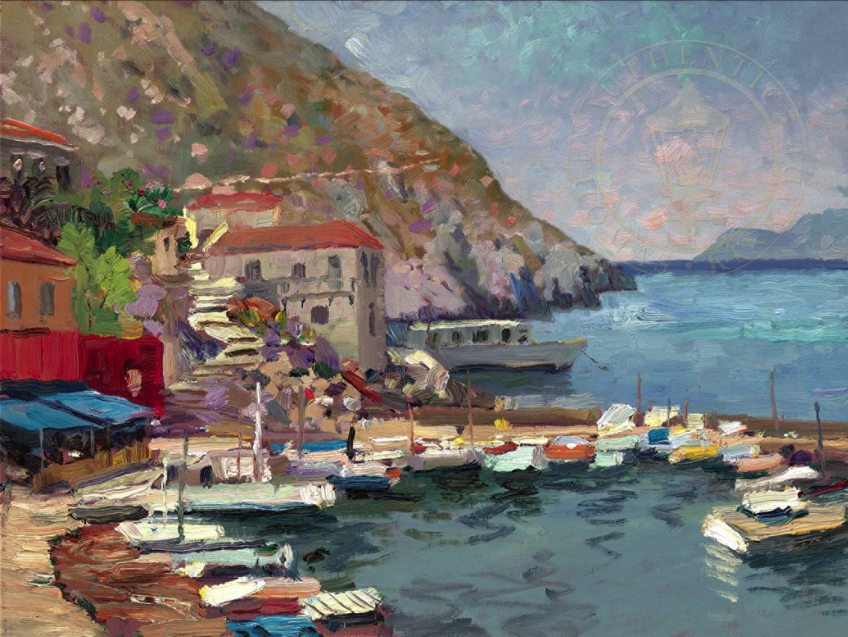 Island Afternoon Greece Limited Edition Art