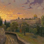 Jerusalem Sunset – Limited Edition Canvas