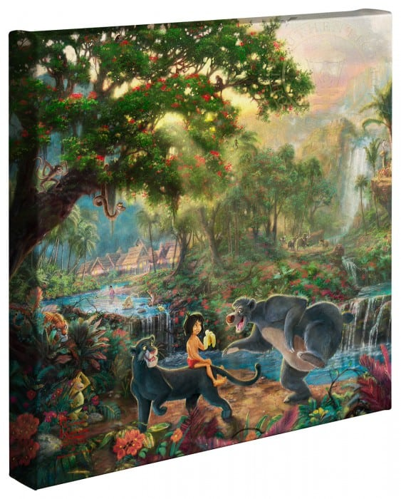 Jungle Book, The – 14″ x 14″ Gallery Wrapped Canvas