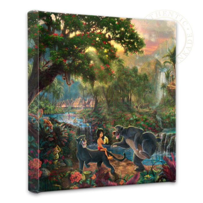 "Jungle Book, The – 14"" x 14"" Gallery Wrapped Canvas"