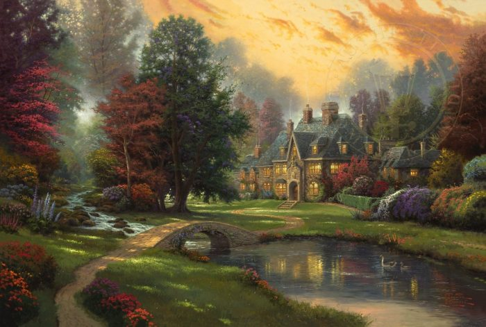 Lakeside Manor – Limited Edition Canvas