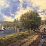 Lakeside Stroll – Limited Edition Canvas
