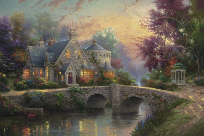 Lamplight Manor – Limited Edition Canvas