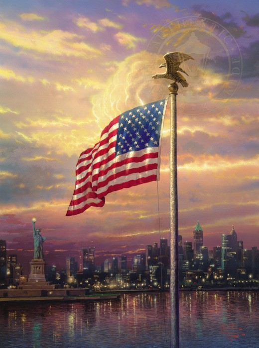 Light of Freedom, The – Limited Edition Art