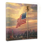 Light of Freedom, The – 14″ x 14″ Gallery Wrapped Canvas