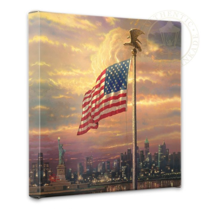 "Light of Freedom, The – 14"" x 14"" Gallery Wrapped Canvas"