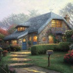 Lilac Cottage – Limited Edition Canvas