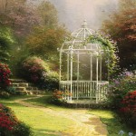 Lilac Gazebo – Limited Edition Canvas