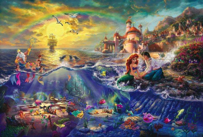 Little Mermaid, The – Limited Edition Canvas