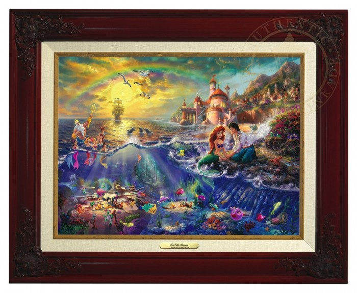 Little Mermaid, The – Canvas Classic