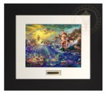 Little Mermaid, The – Modern Home Collection (Espresso Frame)