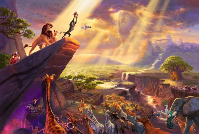 Lion King, The – Limited Edition Canvas