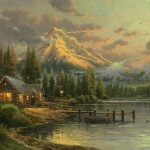 Lakeside Hideaway – Limited Edition Canvas