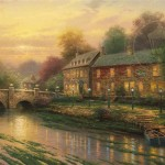 Lamplight Inn – Limited Edition Canvas