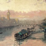 London at Sunset – Limited Edition Canvas
