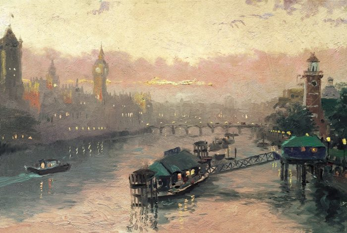 London at Sunset – Limited Edition Art