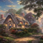 Lovelight Cottage – Limited Edition Canvas