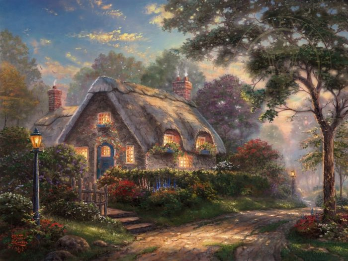 Lovelight Cottage – Limited Edition Art