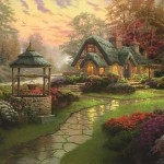 Make a Wish Cottage – Limited Edition Canvas