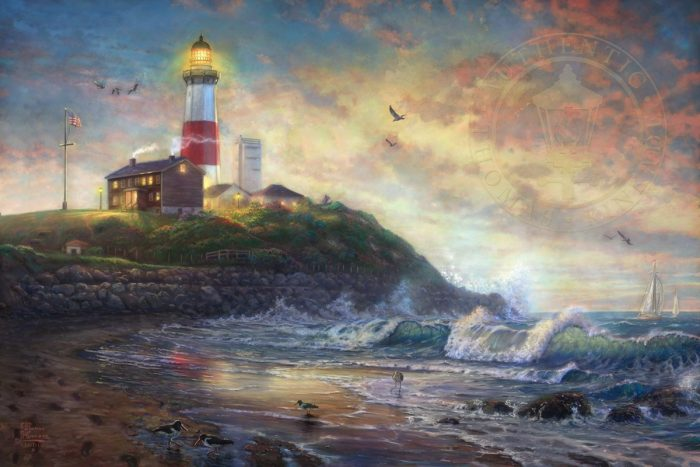 Montauk Lighthouse, Beacon of Long Island – Limited Edition Art