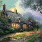 Moonlight Cottage – Limited Edition Art