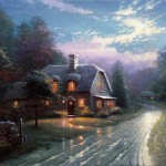 Moonlight Lane – Limited Edition Canvas