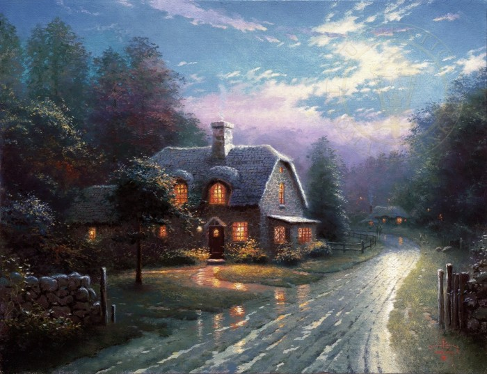 Moonlight Lane – Limited Edition Art