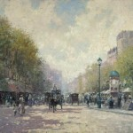Morning on the Boulevard – Limited Edition Canvas