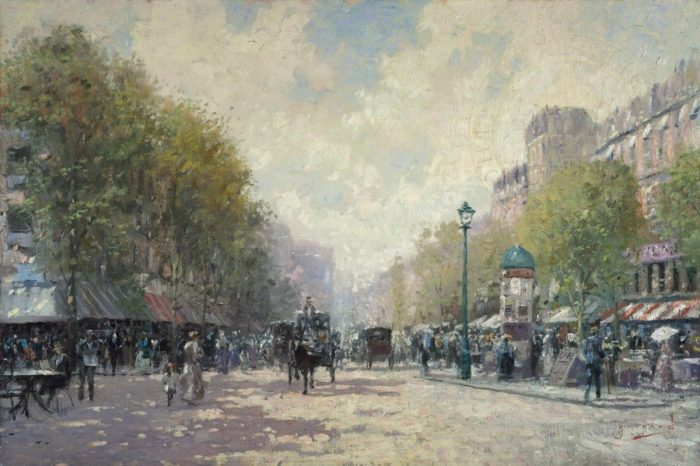 Morning on the Boulevard – Limited Edition Art