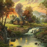 Mountain Retreat – Limited Edition Canvas